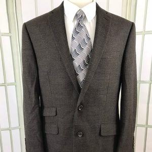 Lauren Ralph Lauren Men's 42L Wool 2 Button Blazer
